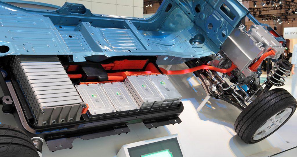 batterie lithium voiture